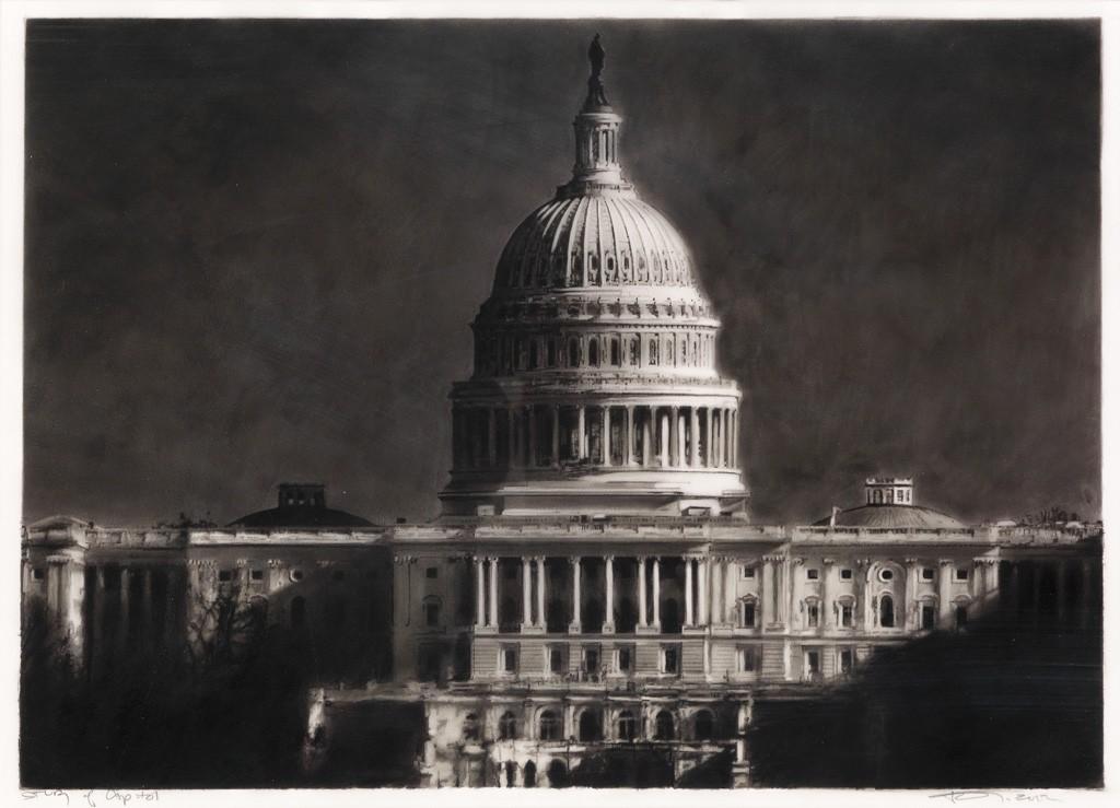Robert Longo, Study of the Capitol