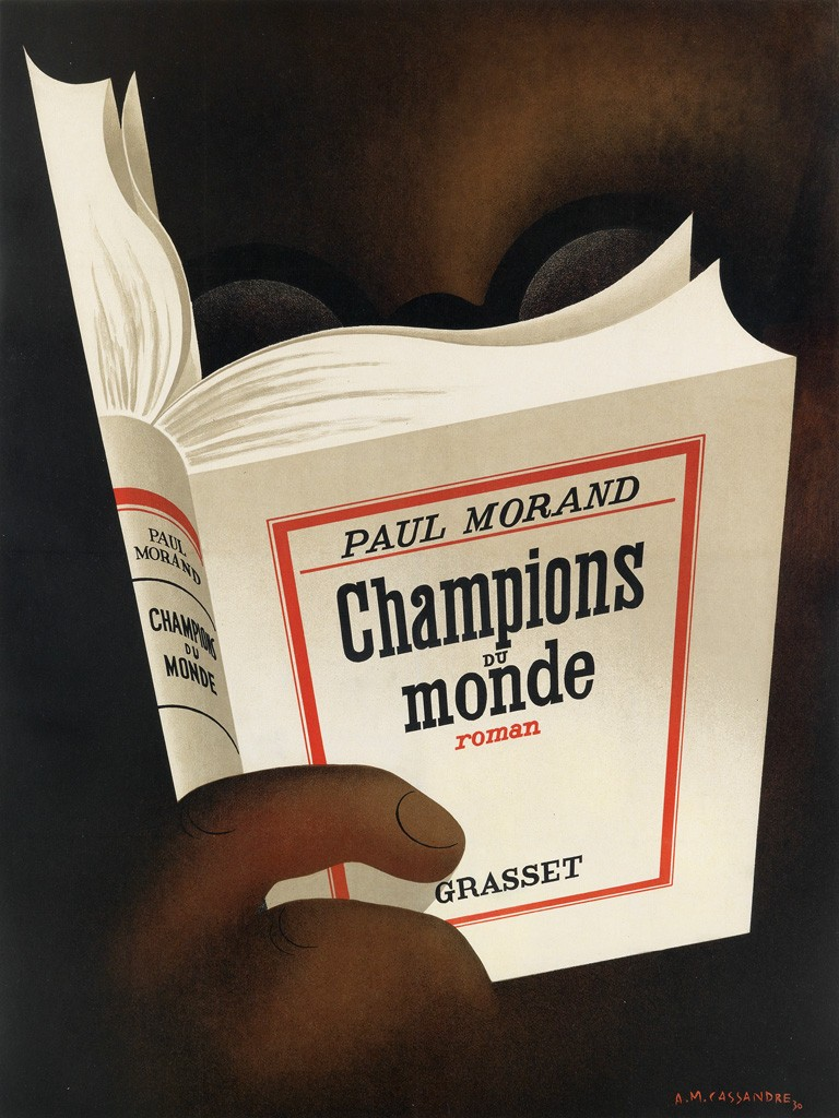 Adolphe Mouron Cassandre, Champions du Monde, 1930. Sold May 10, 2016 for $75,000.