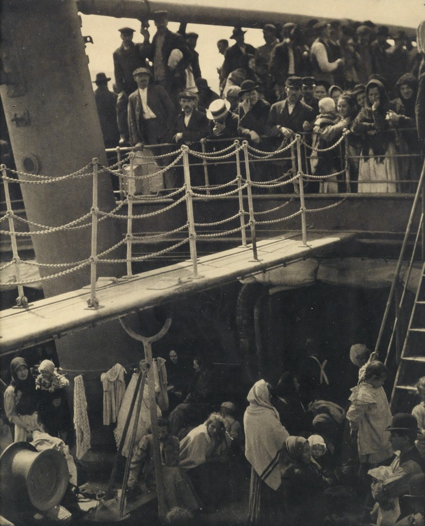 Lot 59: Alfred Steiglitz, The Steerage, photogravure, 1907, printed 1915. Estimate $15,000 to $25,000.