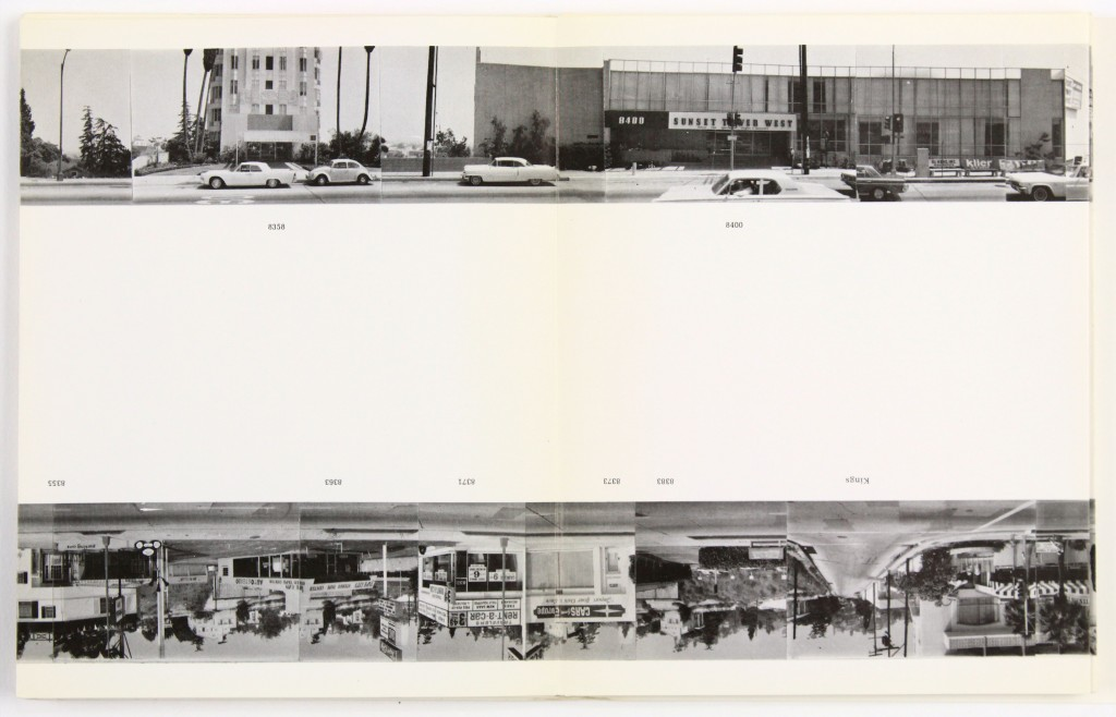 Lot 413: Ed Ruscha, Every Building on the Sunset Strip, one of fourteen photobooks, 1966. Estimate $20,000 to $30,000.