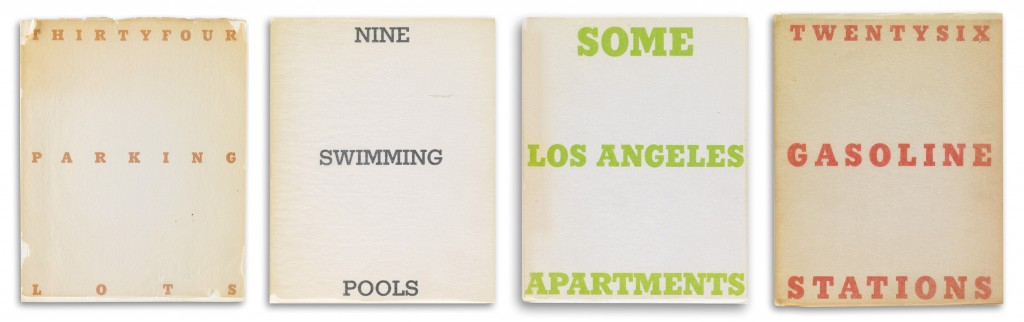 Lot 413: Ed Ruscha, Twenty-six Gas Stations, one of fourteen photobooks, 19xx. Estimate $20,000 to $30,000.