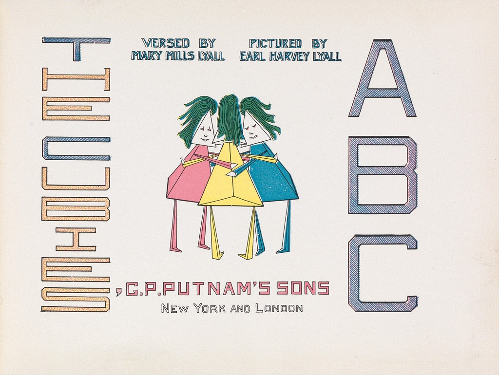 Title page for The Cubies' ABC.