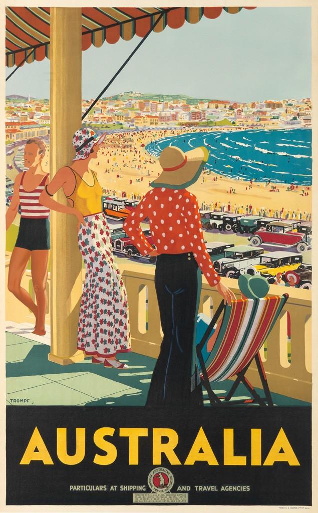 Lot 44: Percival Albert Trompf, Australia, 1929. Sold for $13,750.