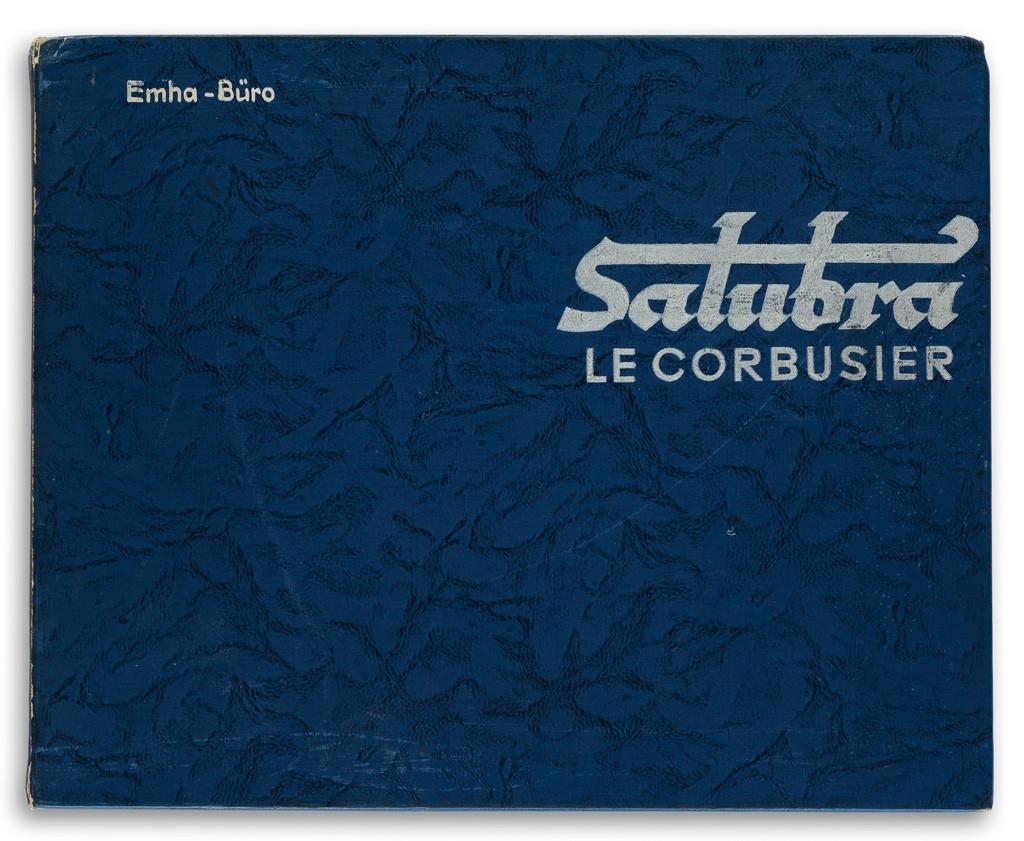 Lot 173: Le Corbusier, Die Farbenklaviaturen von Le Corbusier, color sample book, first edition, Basel, 1931. Estimate $2,500 to $3,500.