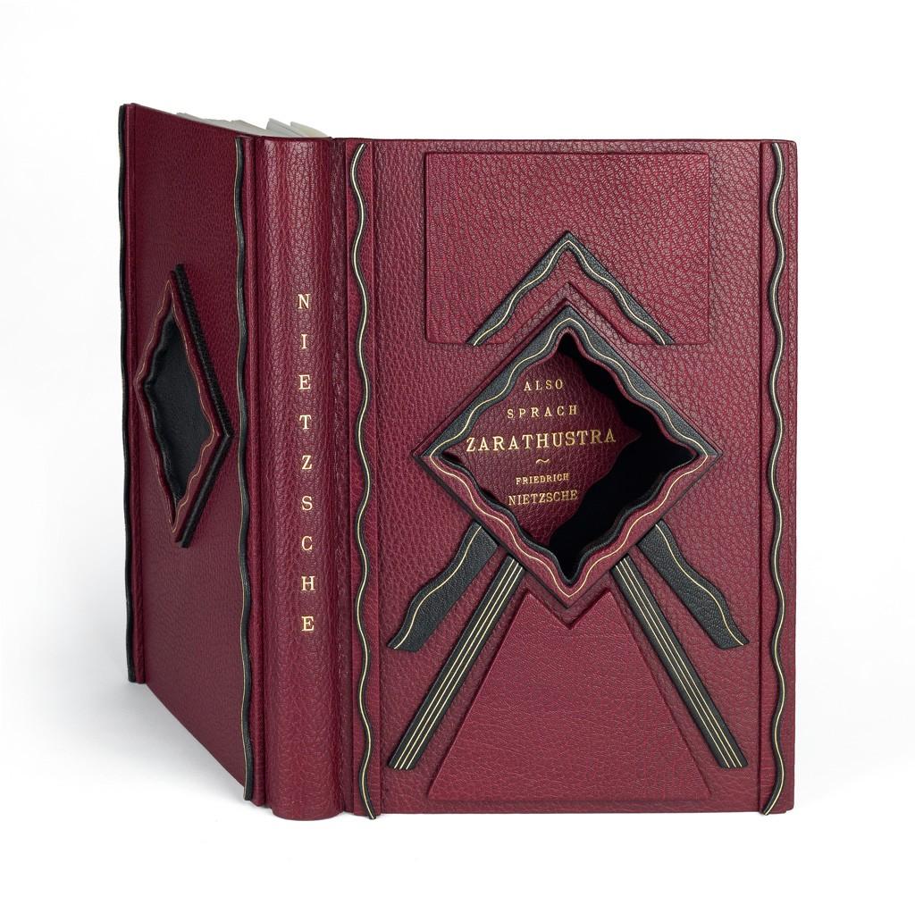 Lot 101: Friedrich Nietzsche, Also Sprach Zarathustra, Insel-Verlag edition, 1908. Sold December 1, 2016 for $15,000.
