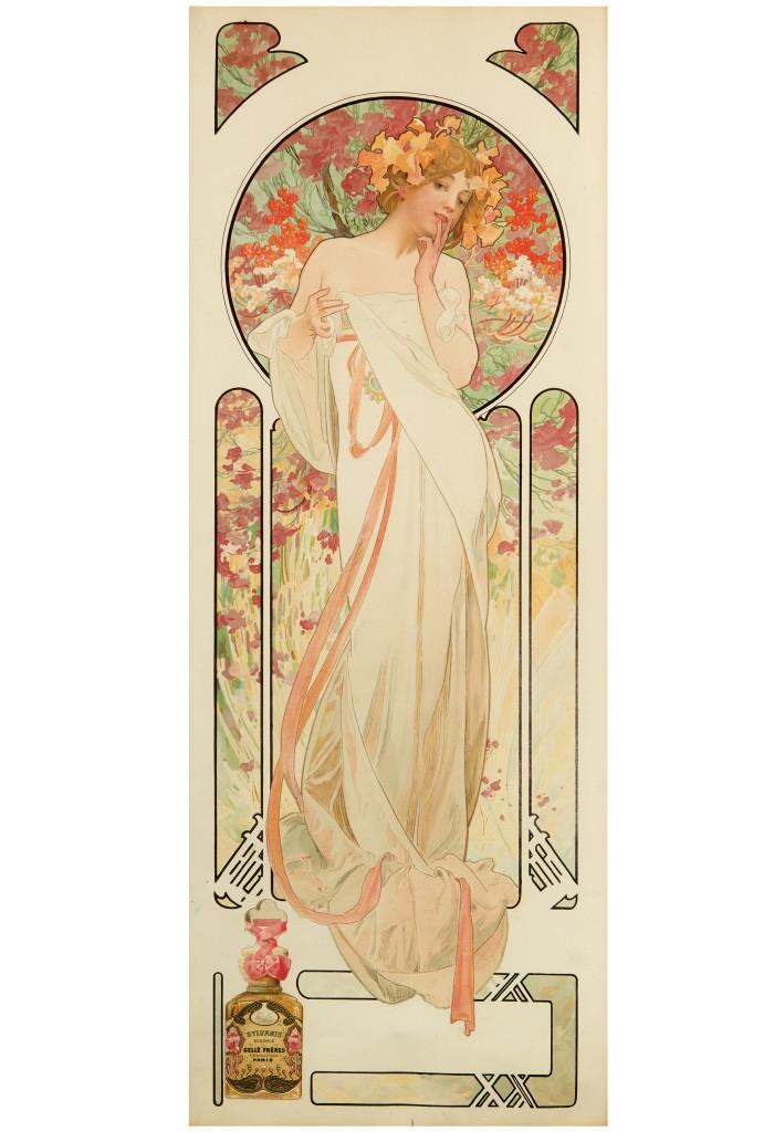 Lot 89: Parfumerie Gellé Frères / Sylvanis Essence, 1899. Sold January 26, 2017 for $27,500.