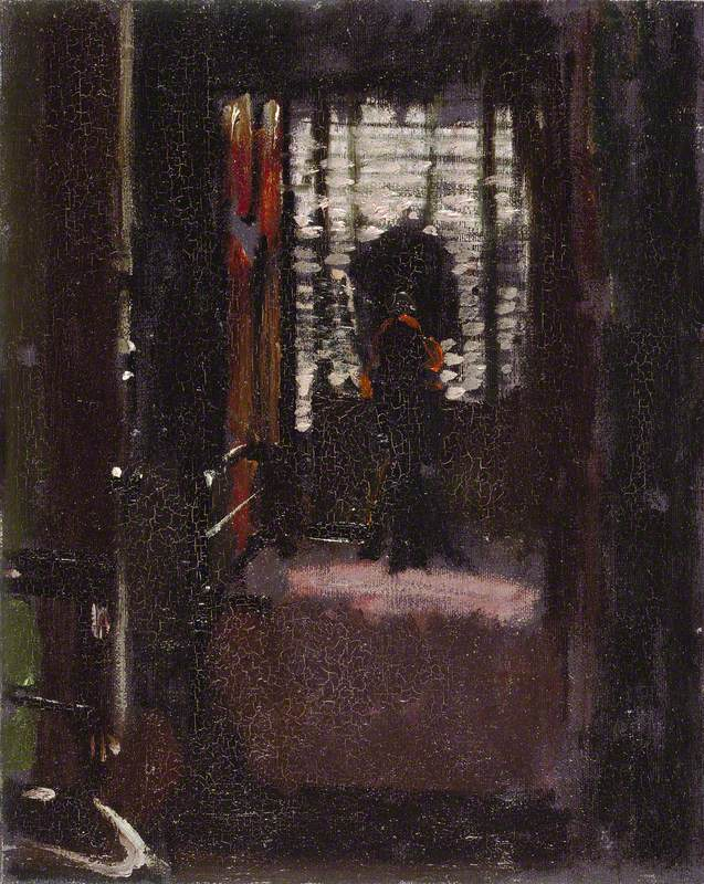 Walter Sickert, Jack the Ripper's Bedroom; Manchester Art Gallery.