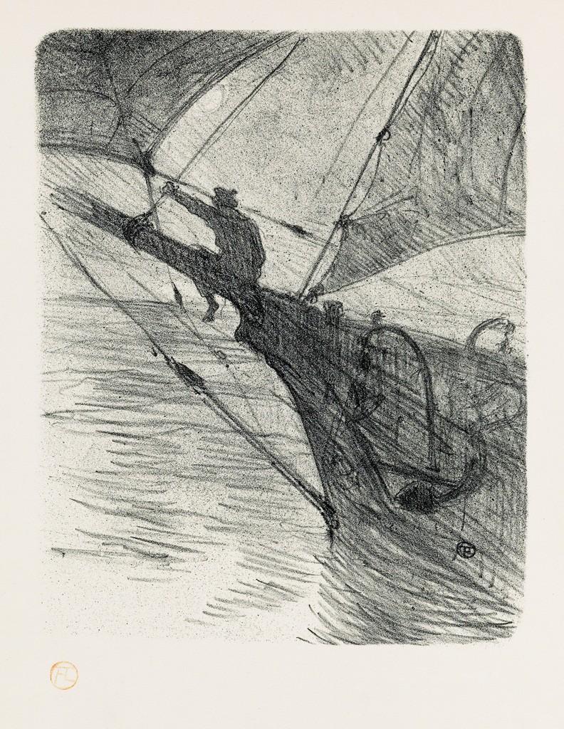 Lot 8: Henri Toulouse-Lautrec, Mélodies de Désiré Dihau, complete set of 14 lithographs, 1895. Sold March 2, 2017 for $30,000.