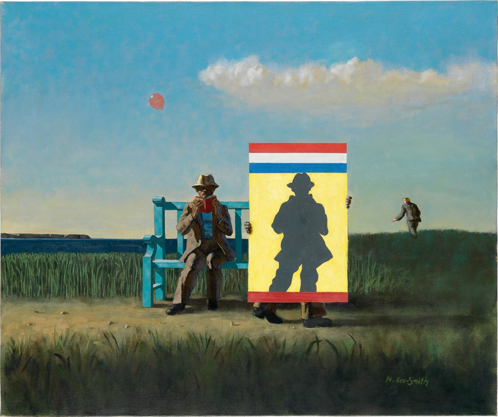 Lot 169: Hughie Lee-Smith, Silhouette, oil on canvas, 1995. Sold April 6, 2017 for $106,250.