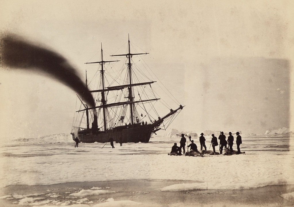 Lot 17: William Bradford, The Arctic Regions, 141 mounted albumen prints, London, 1873. Estimate $100,000 to $150,000.