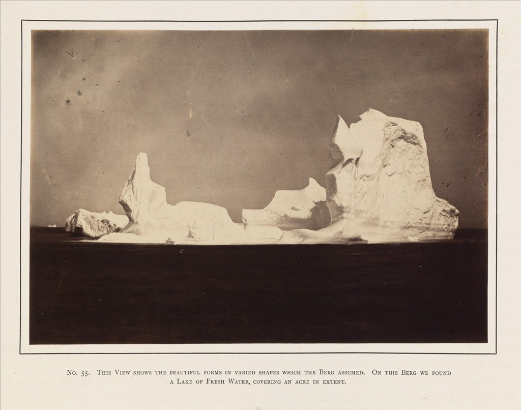 Lot 17: William Bradford, The Arctic Regions, 141 mounted albumen prints, London, 1873. Estimate $100,000 to $150,000.