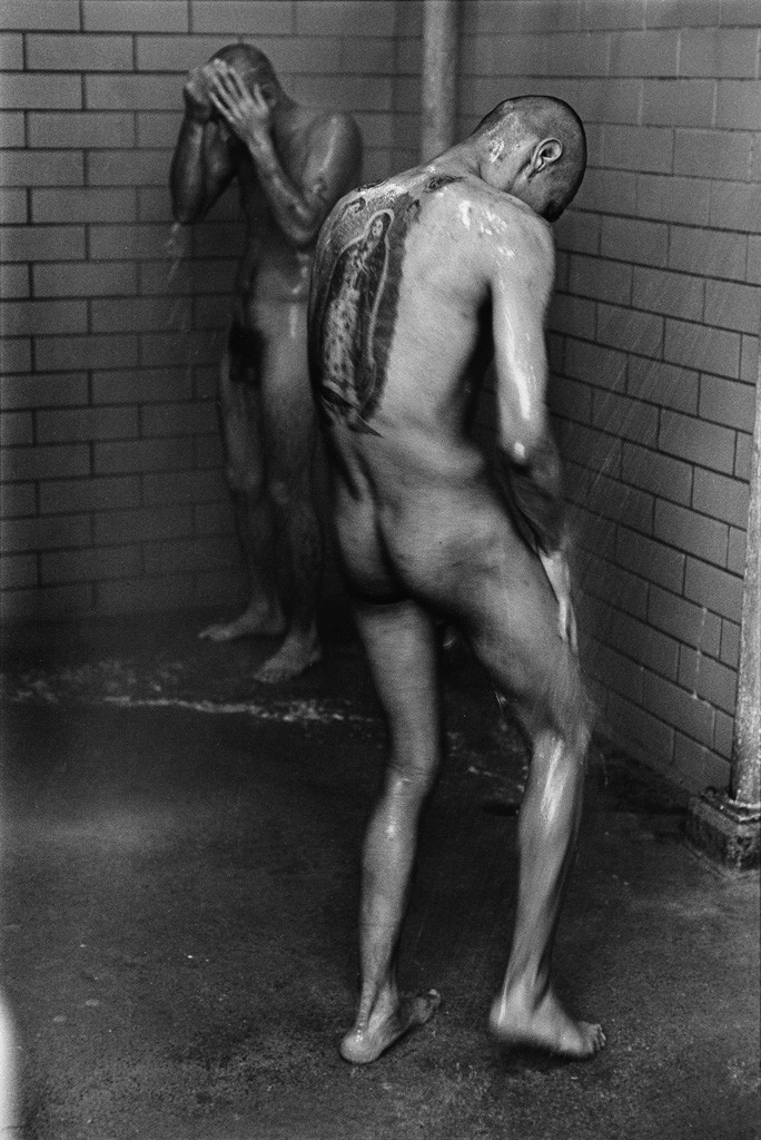 Lot 199: Danny Lyon, Showers, Diagnostic Unit, Texas, 1967-69, from Danny Lyon,