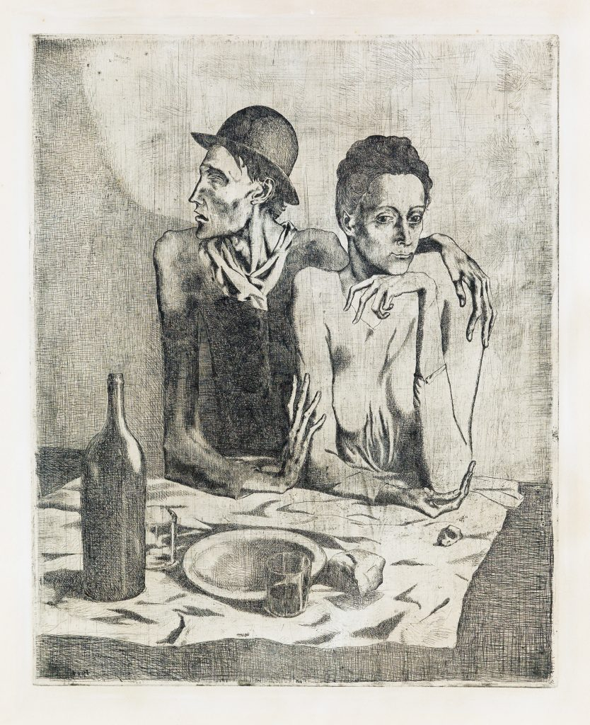 pablo picasso etching and drypoint