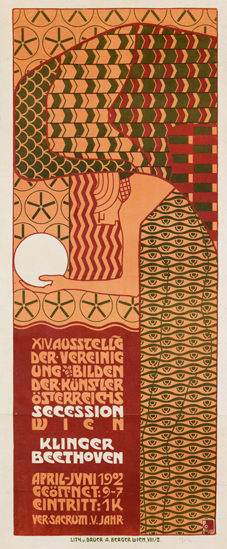 alfred röller, austrian secession, poster auction