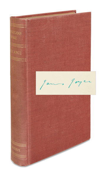 james joyce, finnegans wake, first edition
