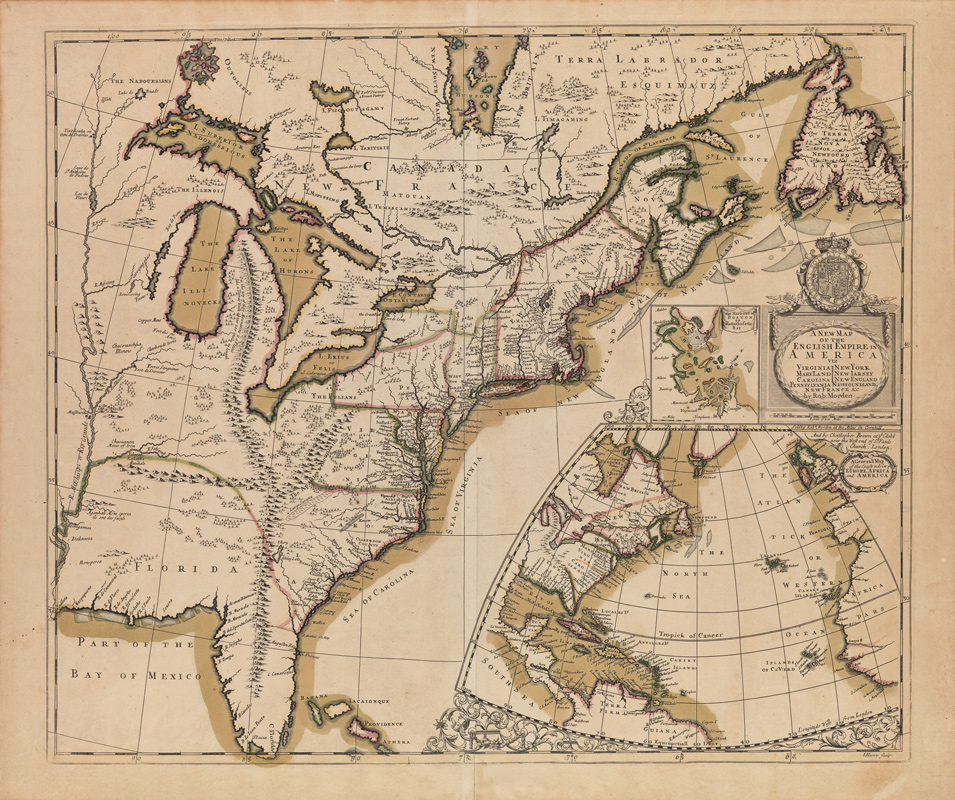 Robert Morden, maps