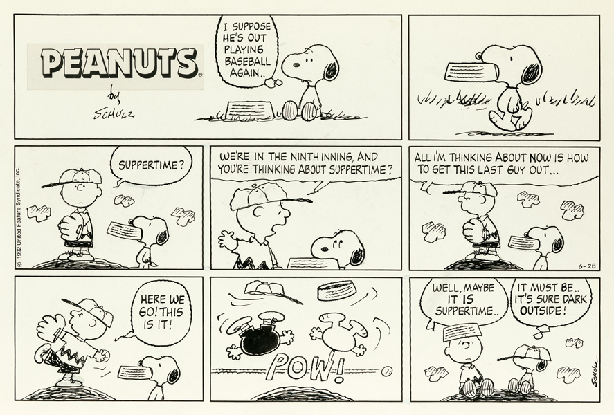 charles schulz, peanuts, snoopy, charlie brown, auction