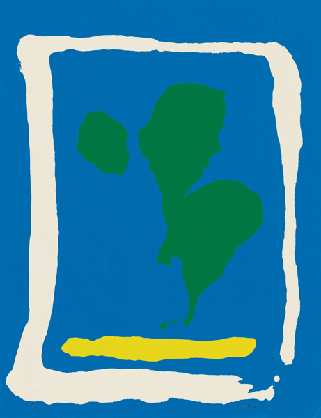 Helen Frankenthaler, screenprint,
