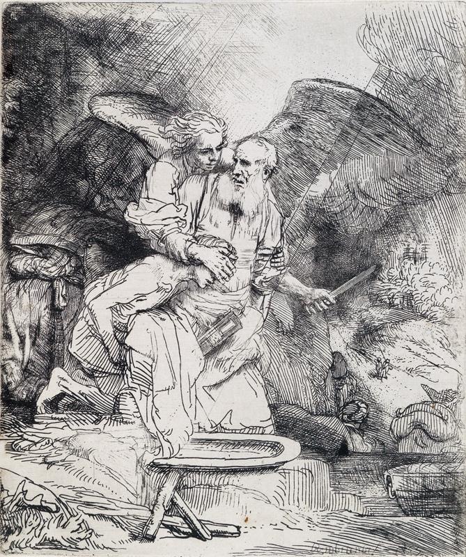 Rembrandt van Rijn, Abrahams Sacrifice
