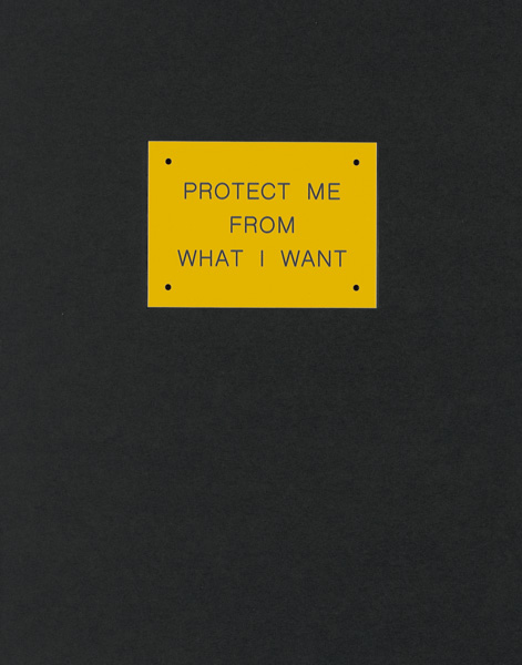 jenny holzer, protect me from what i want, contemporary art