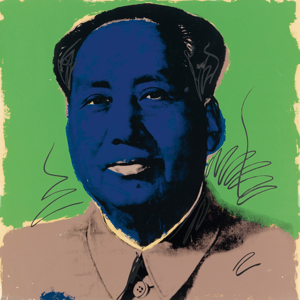 andy warhol, mao, contemporary art, pop art