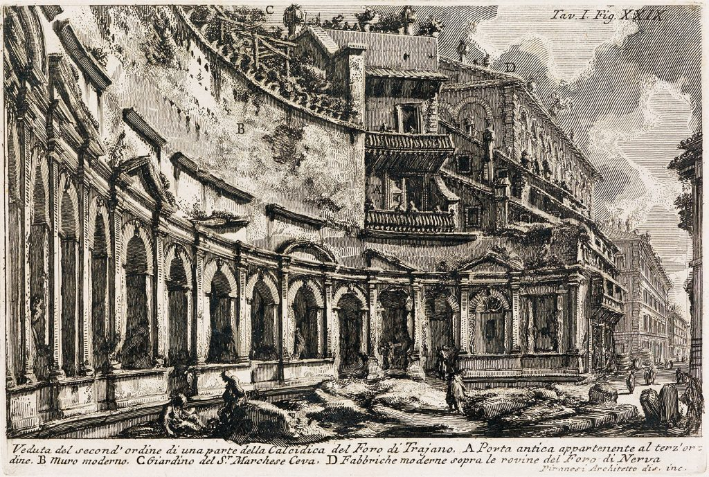 Ancient Then Ancient Now Piranesi S Views Of Rome Swann