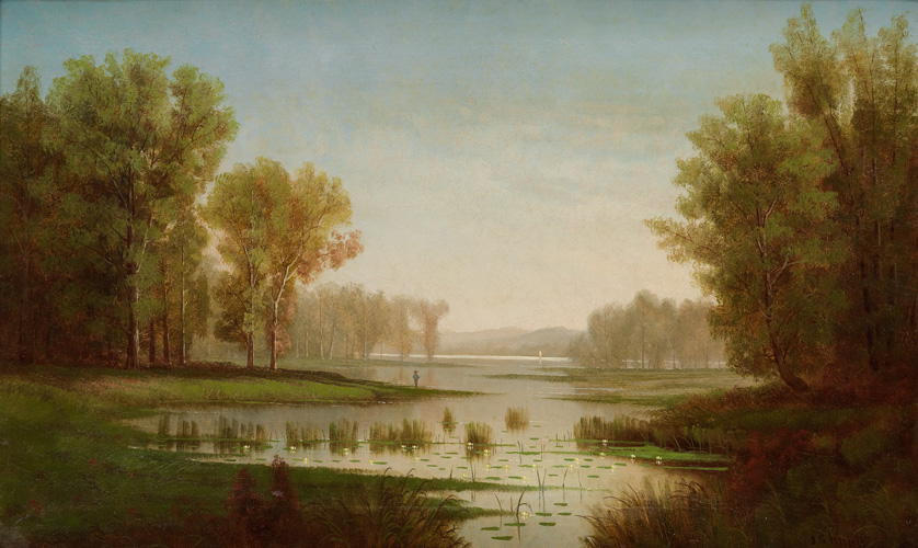 J.G. Hulett, hudson river school, auction