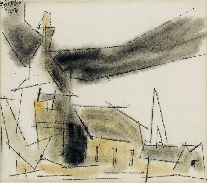 art auctions, lyonel feininger