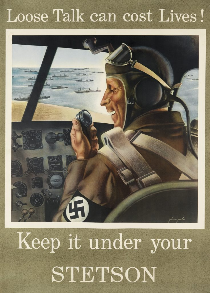 Glen Grohe - Stetson poster