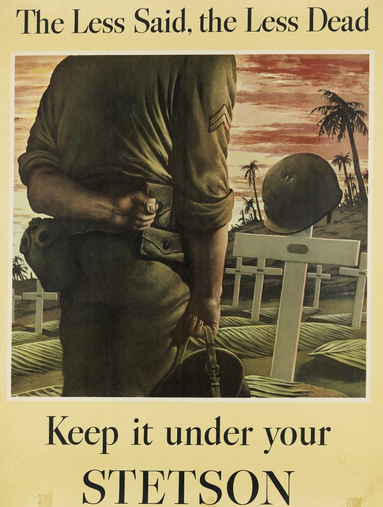 Robert Riggs - Stetson Poster