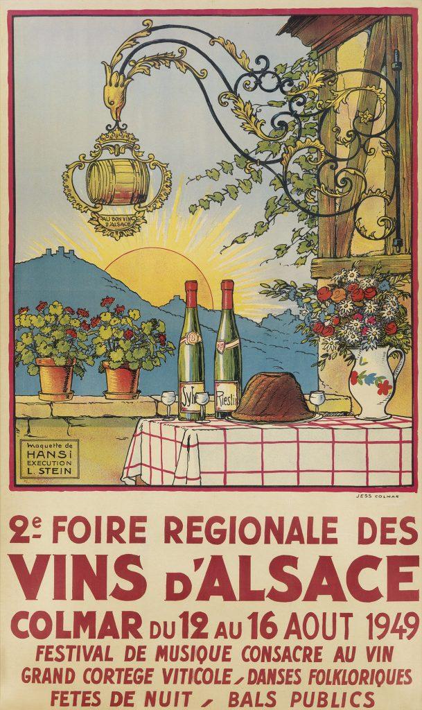 Lot 334 | Hansi & Leon Stein - Wine poster