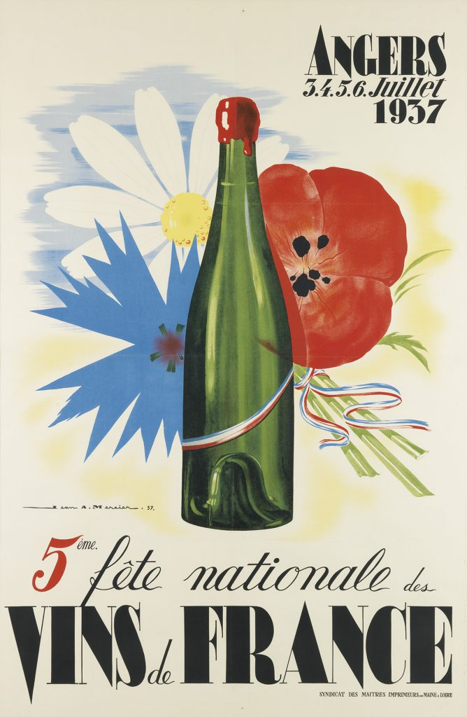 Lot 335 | Jean Mercier Wine poster