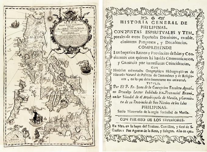 Juan de la Concepción, Historia General de Philipinas, Manila & Sampaloc, 1788-92.