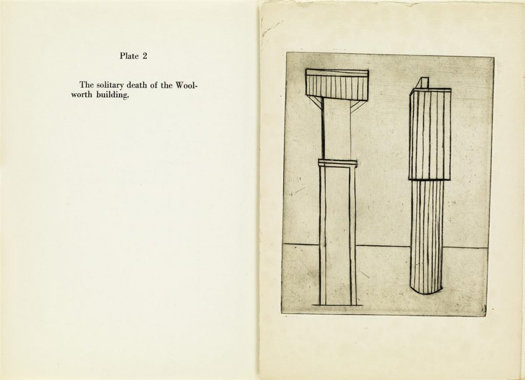 Louise Bourgeois, Portfolio, Plate 2 Spread