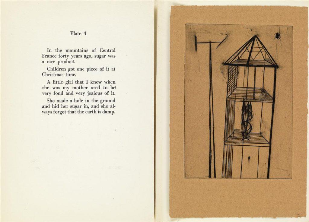 Louise Bourgeois, Portfolio, Plate 4 Spread