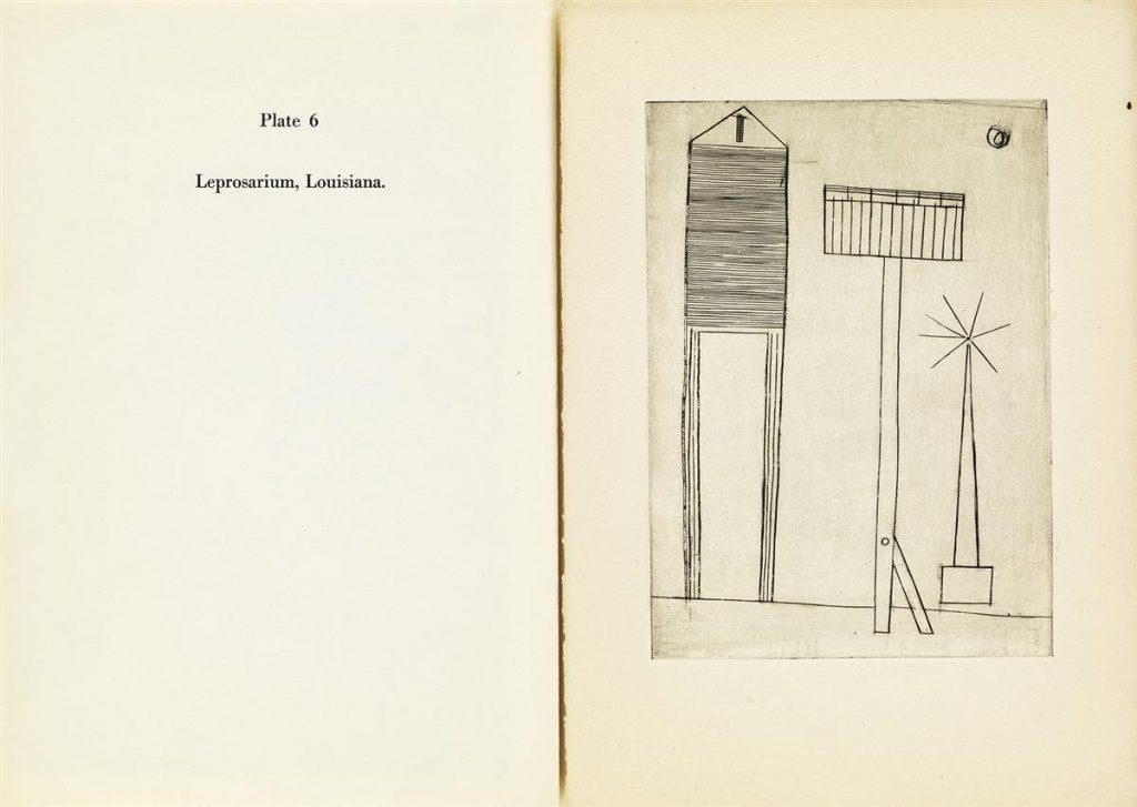 Louise Bourgeois, Portfolio, Plate 6 Spread