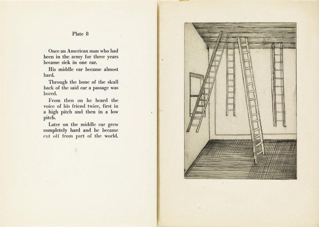 Louise Bourgeois, Portfolio, Plate 8 Spread