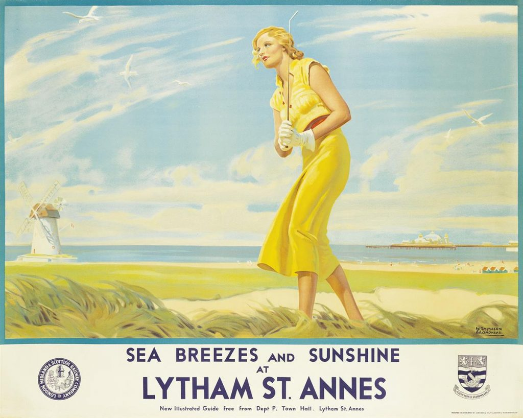Lot 178, W. Smithson Broadhead poster for Lythan St. Annes