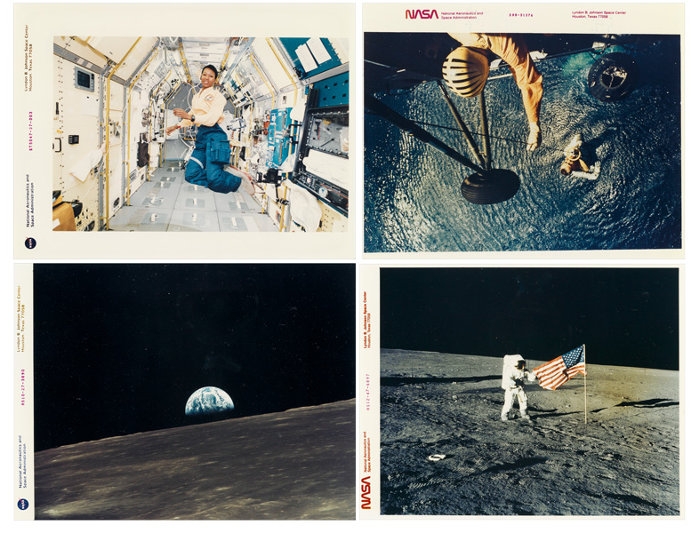 sampling of images of outerspace