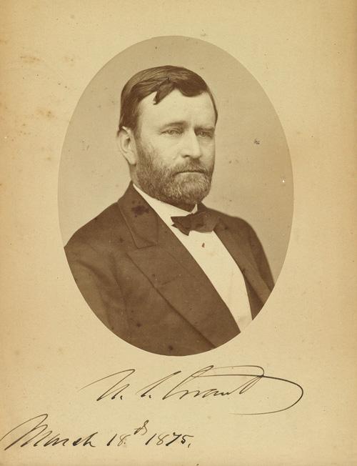 bust portrait of Grant