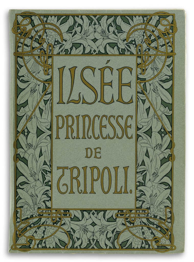 "Cover of Alphonse Mucha's ""Ilsée, Princesse de Trpoli."""