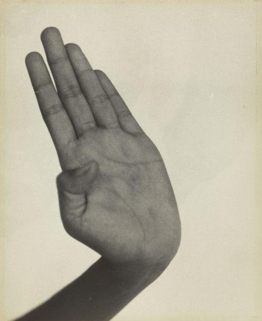 Lot 149  DOROTHEA LANGE (1895-1965)  Hand, Indonesian Dancer, Java. Silver print,