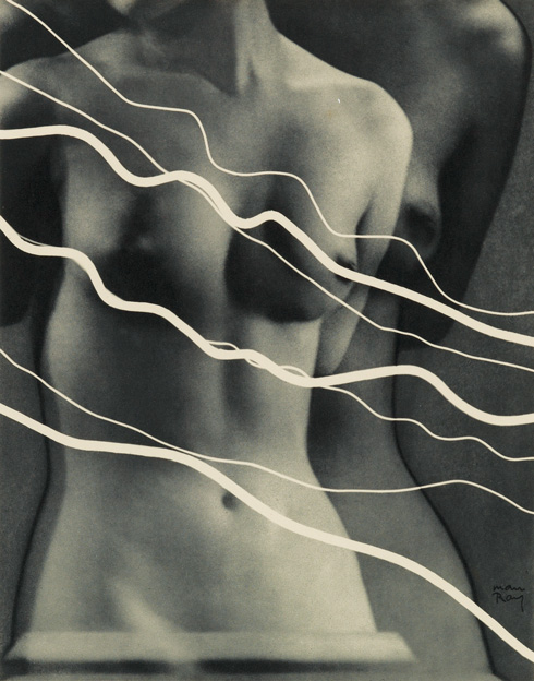 Lot 48  MAN RAY.  Electricité.  Text by Pierre Bost. With 10 photogravures after Man Ray's rayographs