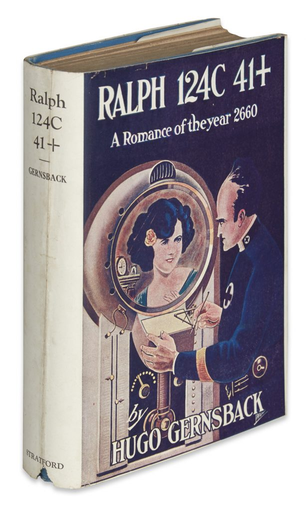 "Cover of Hugo Gernsback's ""Ralph 124C 41+. A Romance of the Year 2660."""