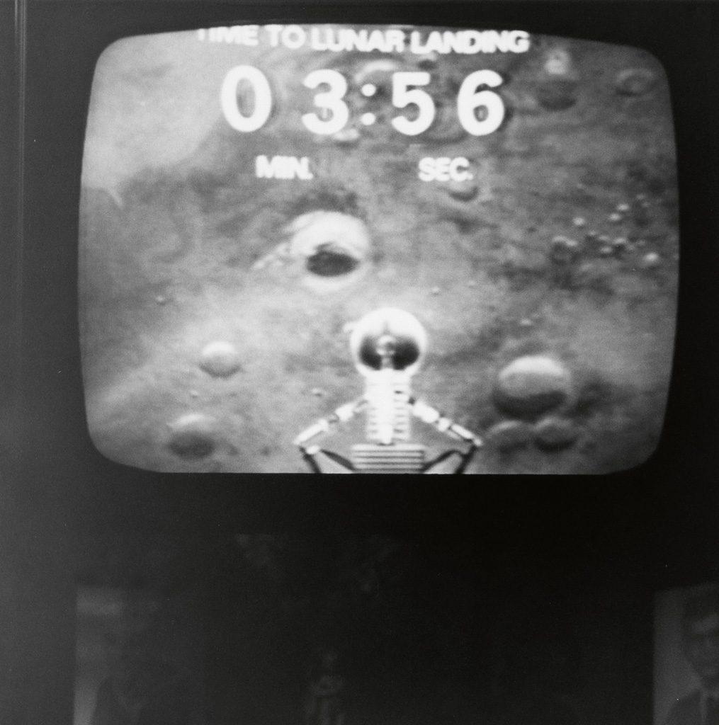 televised moon landing