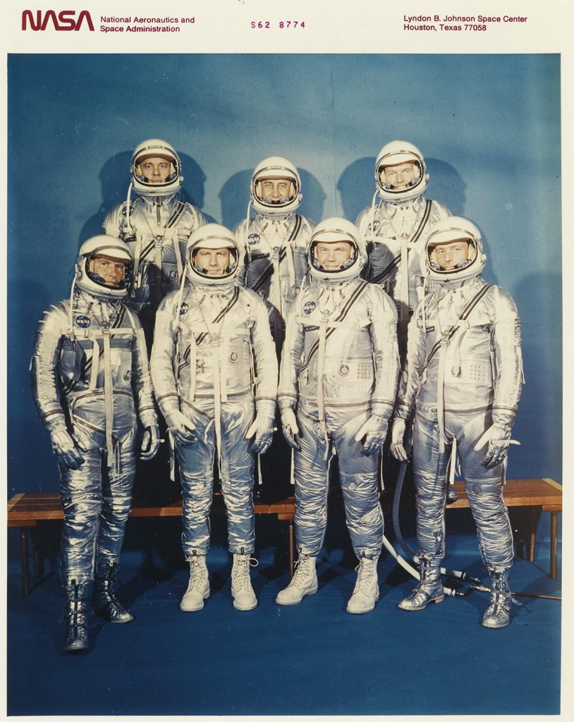 group of astronauts