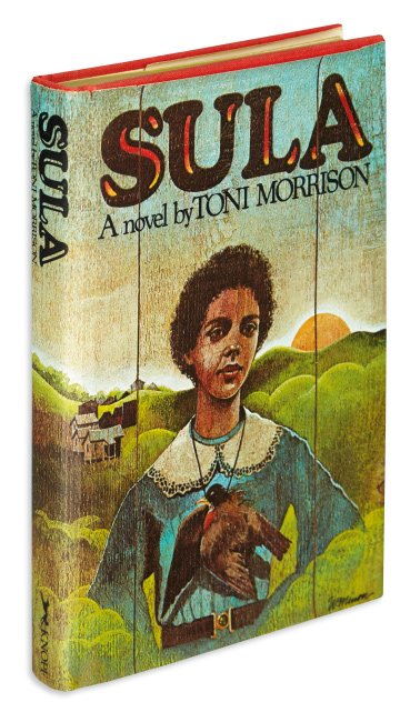 Toni Morrison, Sula, first edition, signed, New York, 1974.