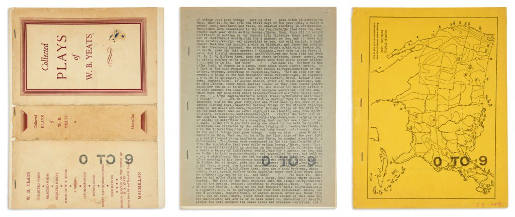 Lot 206: Vito Acconci & Bernadette Mayer, 0 to 9, complete run, New York, 1967-69.