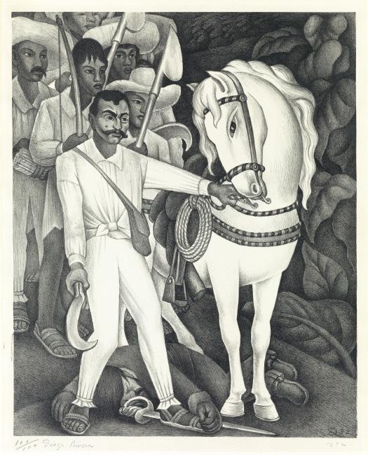 Diego Rivera, Zapata