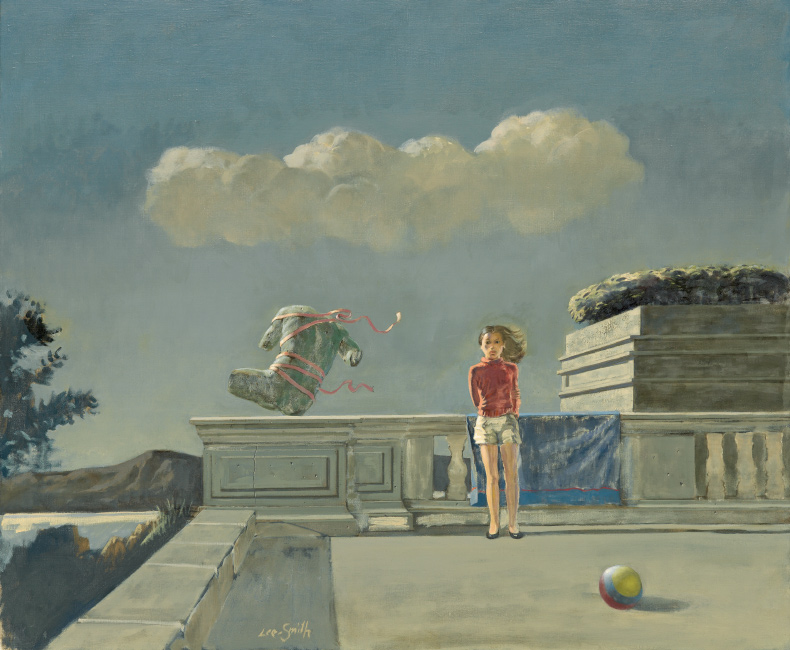 Hughie Lee-Smith, Prelude, oil on canvas, 1986. $40,000 to $60,000.